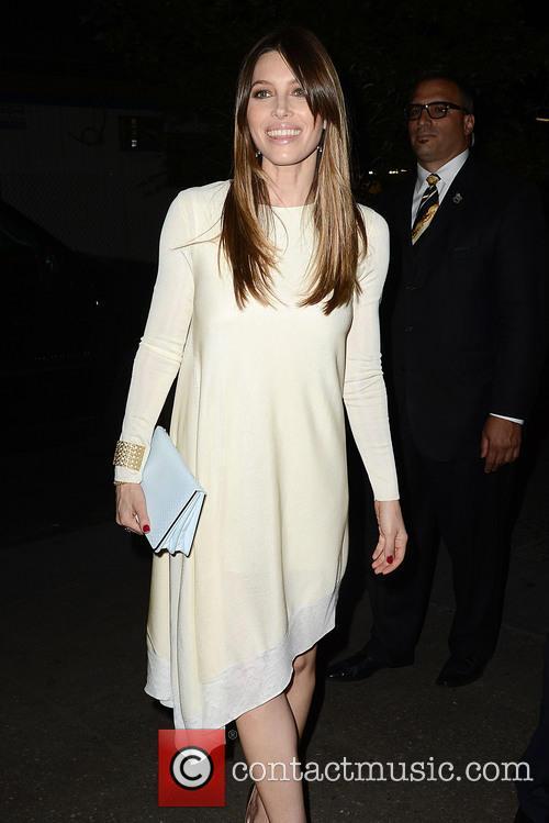 Jessica Biel Goes to a Dior Fashion Week...