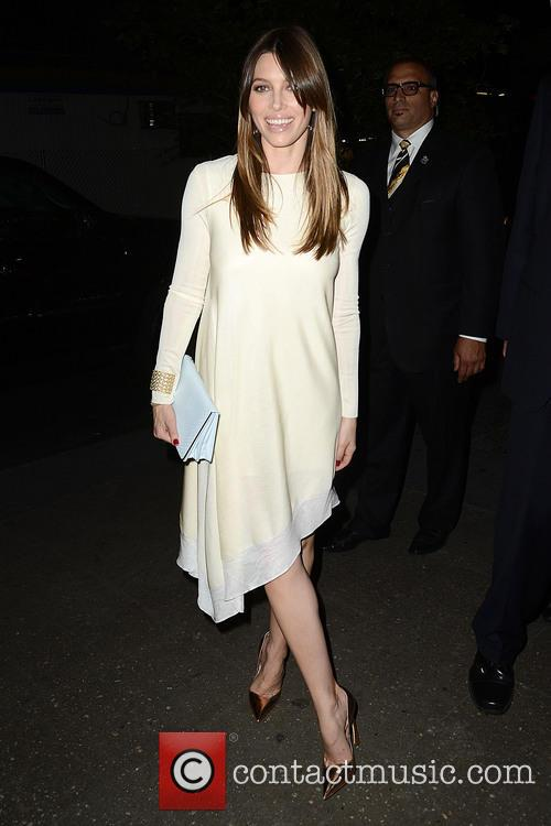 Jessica Biel Goes to a Dior Fashion Week...