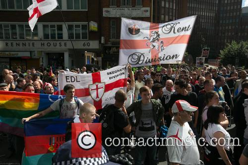 atmosphere edl march ann protest in east 3854172