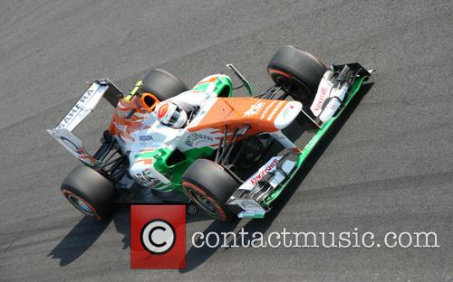Adrian Sutil, Germany and Team Force India-mercedes Vjm 06 3