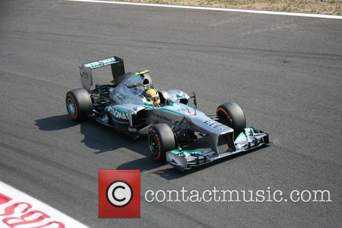 Lewis Hamilton, Uk and Mercedes W04  - 3