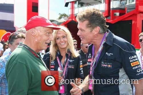 Niki Lauda, Hayley Roberts and David Hasselhof - 3
