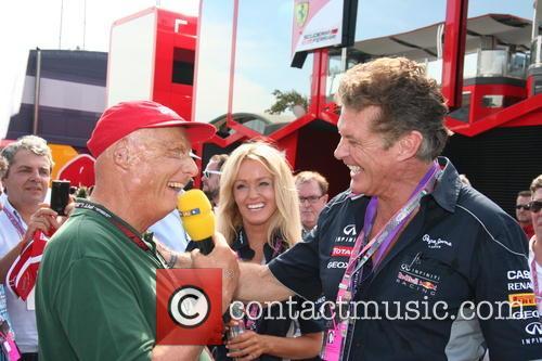 Niki Lauda, Hayley Roberts and David Hasselhof - 4