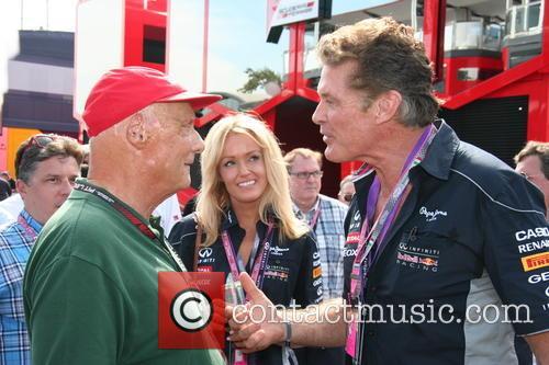 Niki Lauda, Hayley Roberts and David Hasselhof - 5