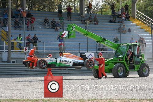 Paul Di Resta, Uk and Team Force India-mercedes Vjm 06 - 2