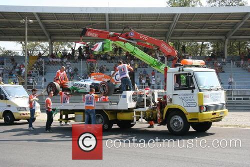 Paul Di Resta, Uk and Team Force India-mercedes Vjm 06 - 1