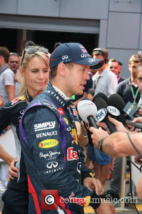 Sebastian Vettel, Germany and Red Bull-renault Rb9 F1 Car - 2