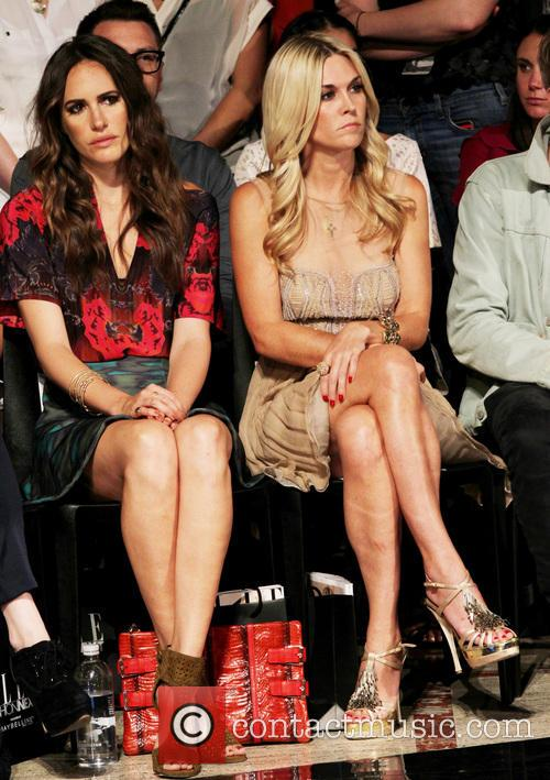 Louise Roe and Tinsley  Mortimer 2