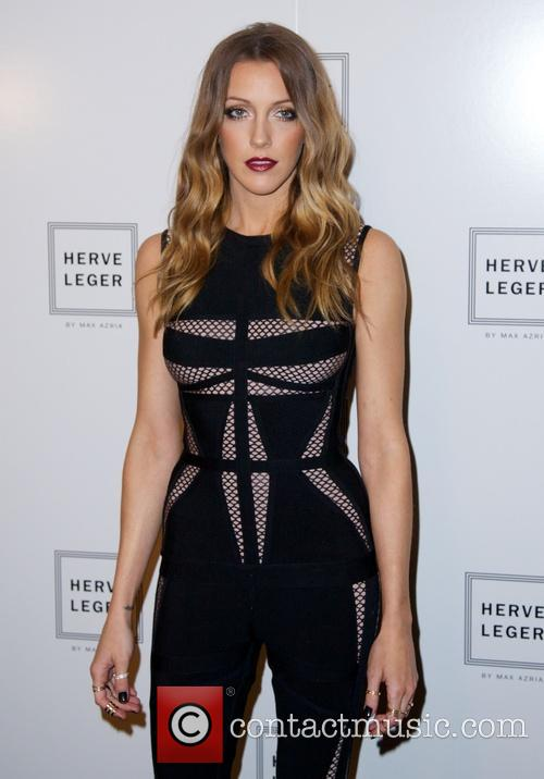 katie cassidy nyfw herve leger by 3854601