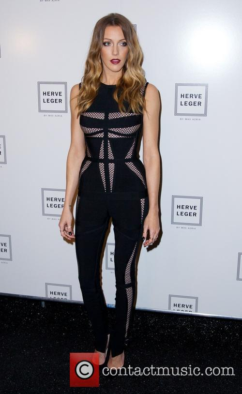 katie cassidy nyfw herve leger by 3854616