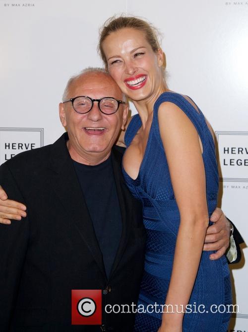 Max Azria and Petra Nemcova 2