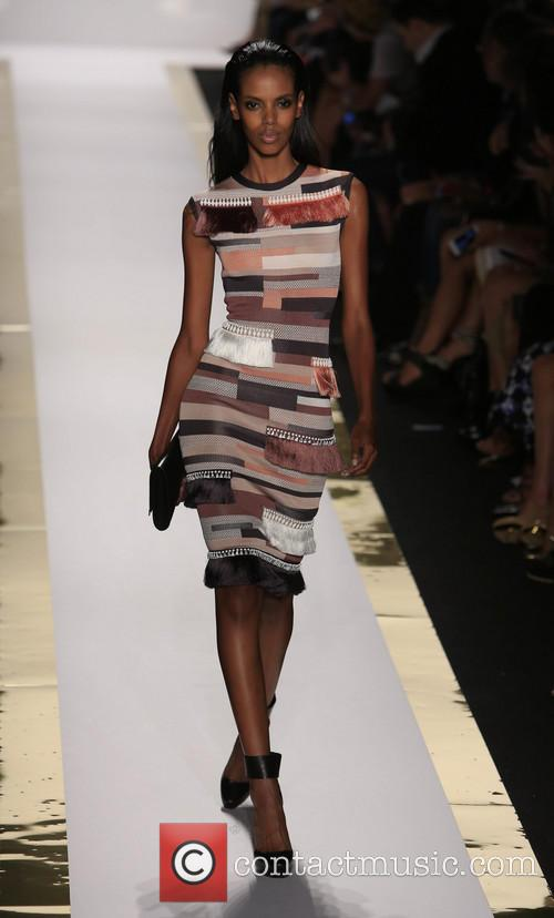 Herve Leger, Max Azria and Runway 4