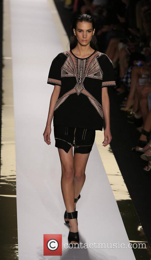 Herve Leger, Max Azria and Runway 12