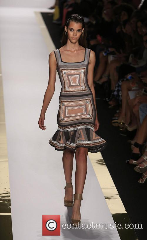 Herve Leger, Max Azria and Runway 18