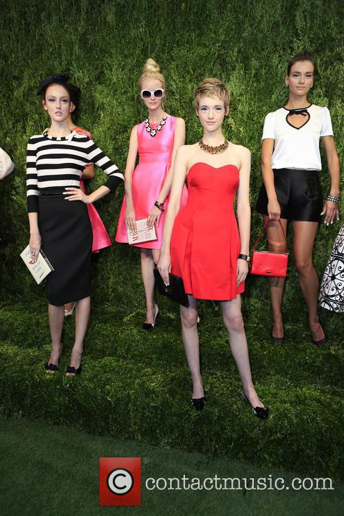 Mercedes-benz New York Fashion, Week Spring, Summer and Kate Spade 6