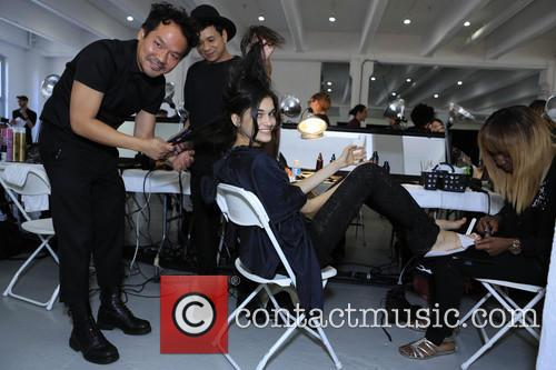Backstage, 541 West 22nd St, New York Fashion Week