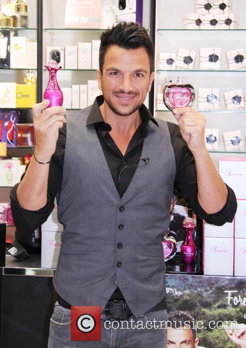 Peter Andre launches his new fragrances 'Forever' and...
