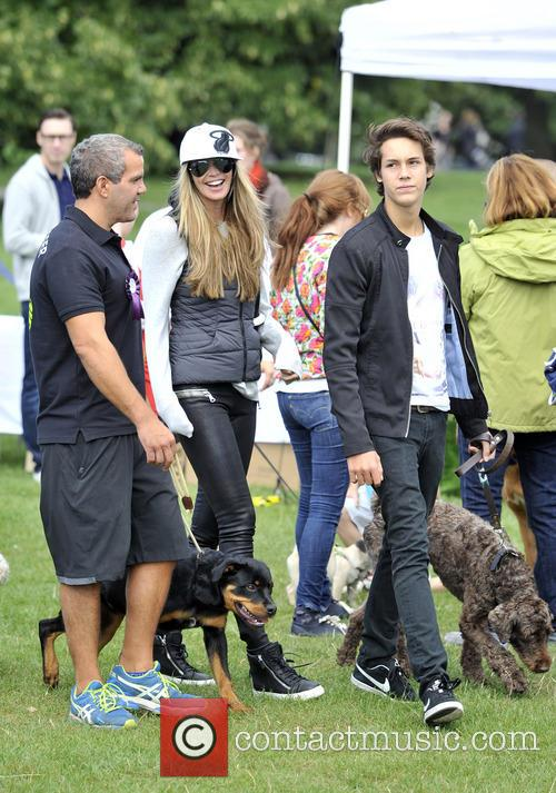 Elle Macpherson and Arpad Flynn Busson 9