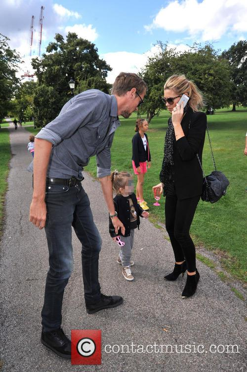 Peter Crouch, Abbey Crouch, Abigail Crouch, Abbey Clancey and Sophia Ruby 1