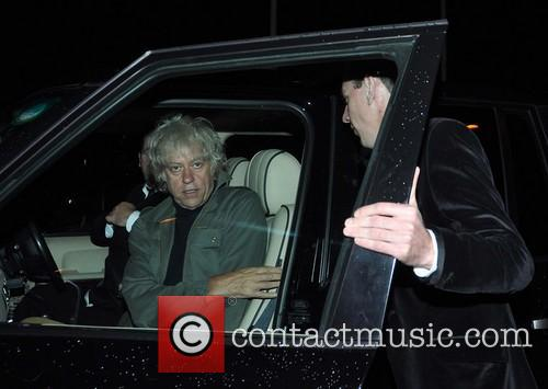 Celebrity guest arrival at The Late Late Show