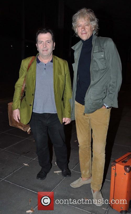Pete Briquette and Bob Geldof 2