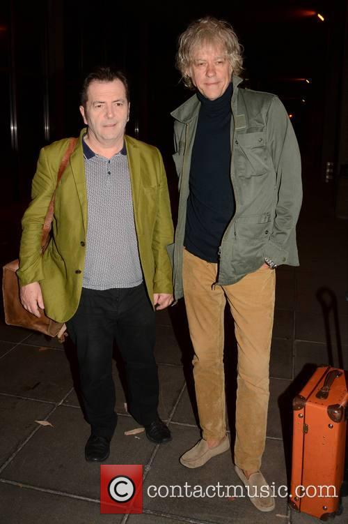 Pete Briquette and Bob Geldof 1