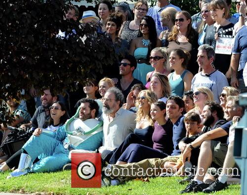 Kate Hudson, Zach Braff, Joey King, Mandy Patinkin and Josh Gad 3