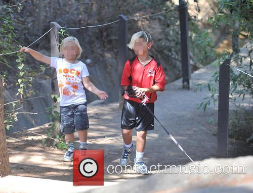 Kingston Rossdale and Zuma Rossdale 5