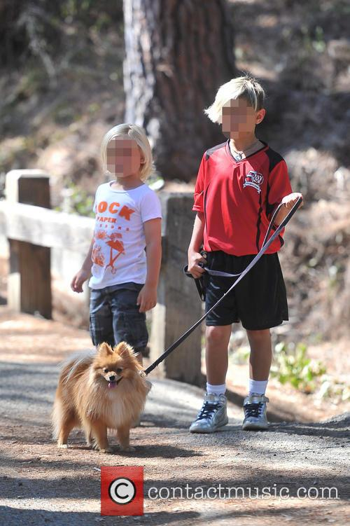 Kingston Rossdale and Zuma Rossdale 7