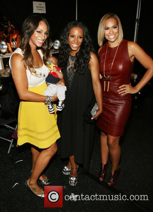 Alexis Stoudemire, June Ambrose and Amber Sabathia 2