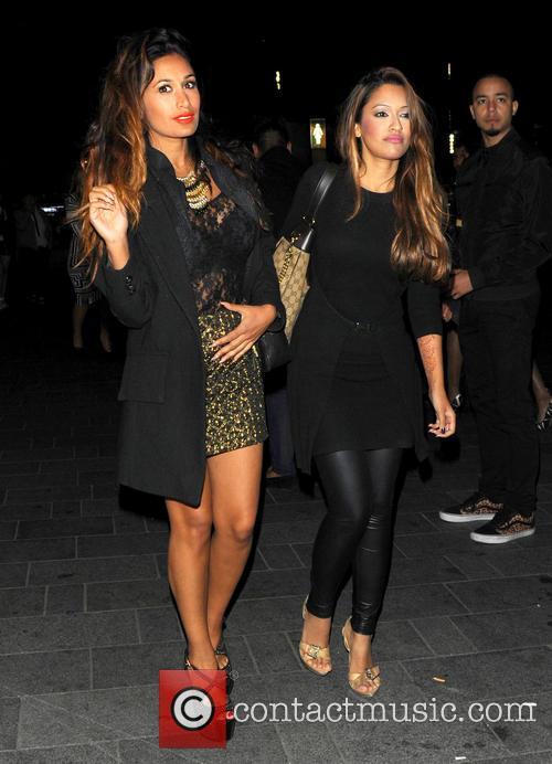 Preeya Kalidas arrives at The Penthouse London nightclub