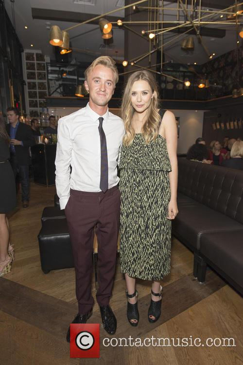 Tom Felton and Elizabeth Olsen 2