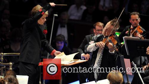 Nigel Kennedy and Marin Alsop 2