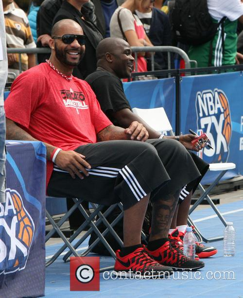 Carlos Boozer hosts the NBA 3X Basketball Tournament