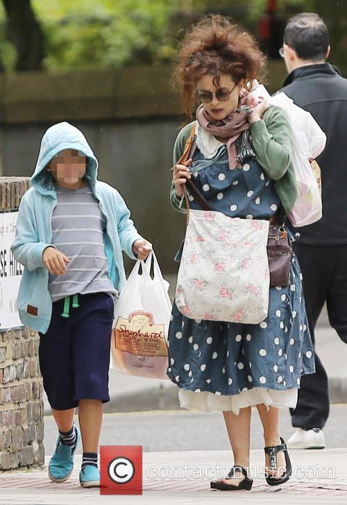Helena Bonham Carter and Billy Raymond Burton 2