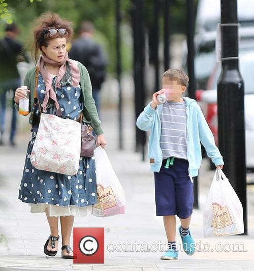 Helena Bonham Carter and Billy Raymond Burton 4