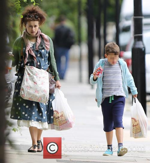 Helena Bonham Carter and Billy Raymond Burton 1
