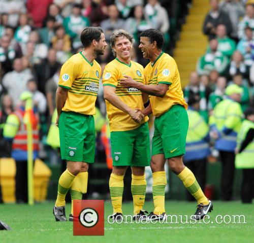 Jamie Redknapp, John Bishop and Chris Kamara 2