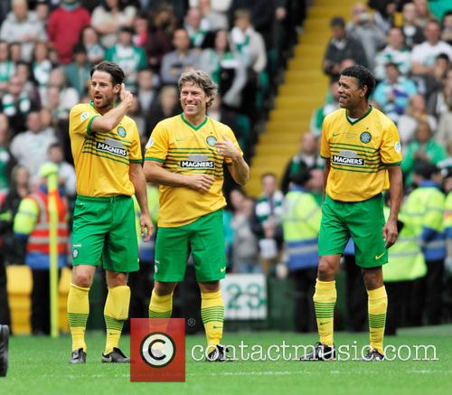 Jamie Redknapp, John Bishop, Chris Kamara, Celtic Park