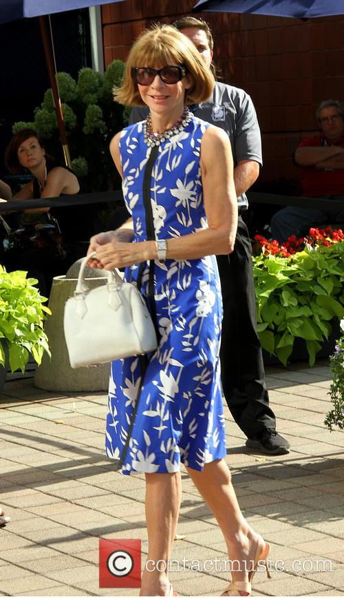 anna wintour celebrities attend the us open 3856586