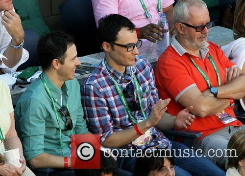 jim parsons celebrities attend the us open 3856589