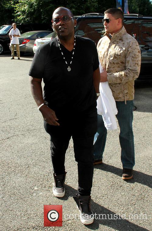 randy jackson celebrities attend the us open 3856593