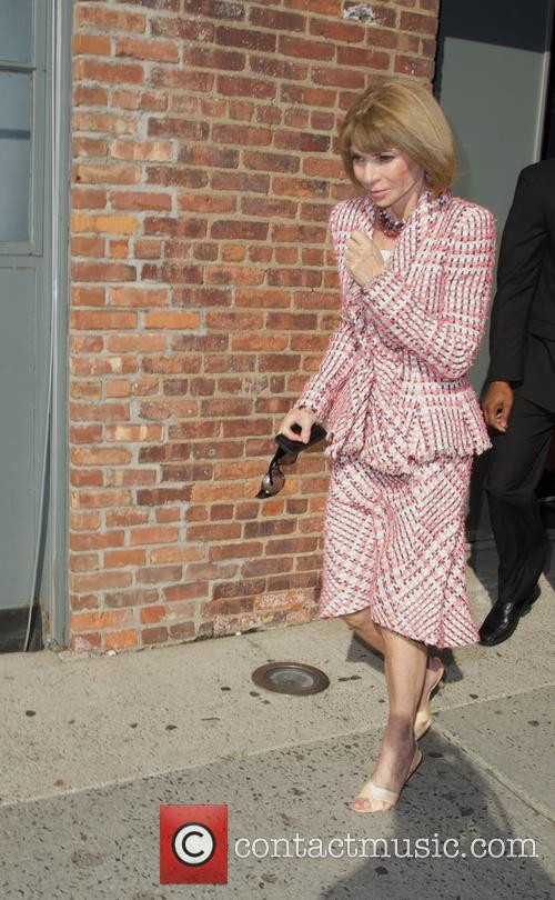 Donna Karan New York show- outside Arrivals