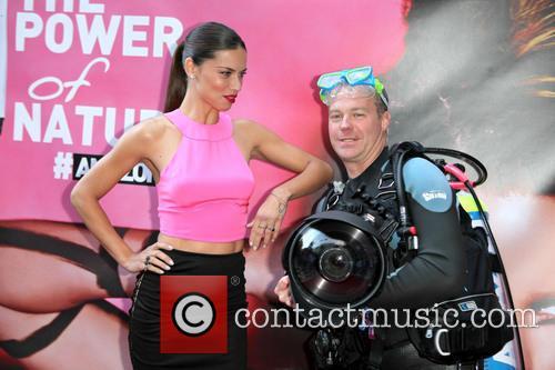 Adriana Lima and Scuba Steve 6