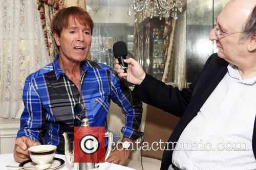 Phillip Silverstone and Sir Cliff Richard 1