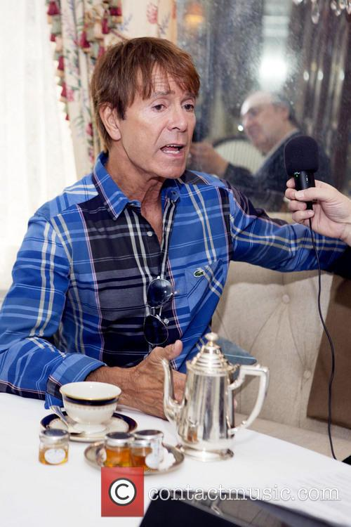 Sir Cliff Richard and Phillip Silverstone 1