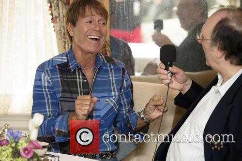 Sir Cliff Richard and Phillip Silverstone 5