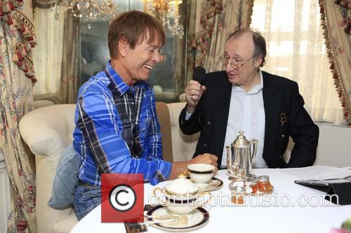 Sir Cliff Richard and Phillip Silverstone 11