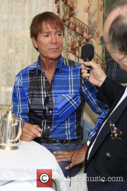 Sir Cliff Richard and Phillip Silverstone 16