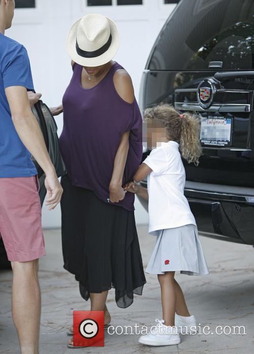 halle berry heavily pregnant halle berry 3857968